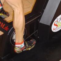 Quanti kg spingi pedalando?